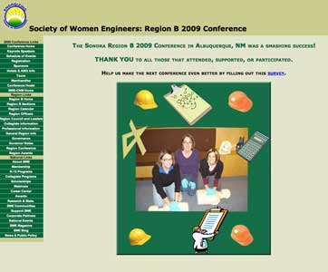 Click to see SWE Region B website.