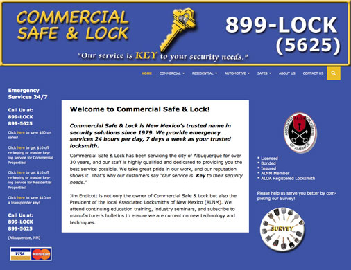 Commercial Safe & Lock