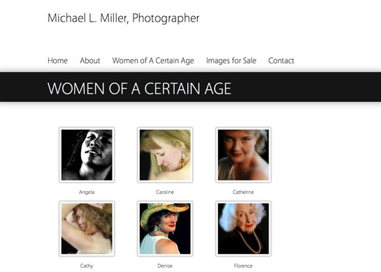 Michael L. Miller, Photographer
