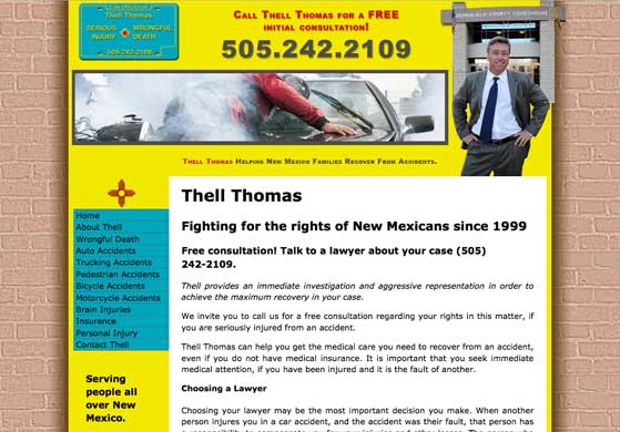 Thell Thomas, Attorney