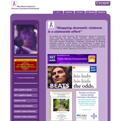 New Mexico Domestic Violence Leadership Commission
