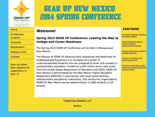 GEAR UP NM Conference